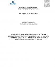 Capa Trabalho Pitágoras Trabalho Acadêmico Brunaeveny