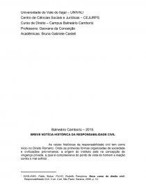 CIVIL PABLO STOLZE DE RESPONSABILIDADE BAIXAR LIVRO