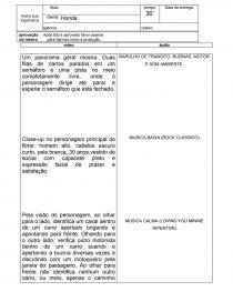 Roteiro Comercial Trabalho Acadêmico Cremilda Batista