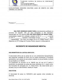Petição Insanidade Mental Tese Arlei10