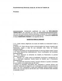 Modelo De Quesitos Periculosidade Resenha Marcos Rios