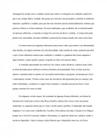 Analise Conto A Roupa Nova Do Imperador Trabalho Academico
