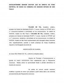 Modelo De Petição Para Expedição De Certidão De Honorarios