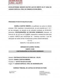 Contrarrazoes Recurso Inominado Dissertação Renan Klautau