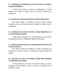Resumo de artigos sobre futsal - Trabalho acadêmico - juliana0710 8e871d3da6c28