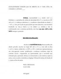 O Recurso De Apelação Dissertação Joelia Soares