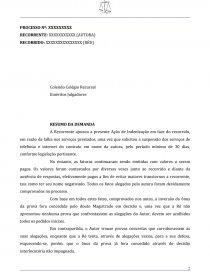 Modelo Recurso Inominado Jec Dissertação Staroski