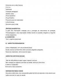 Modelo Informe Psicopedagógico Artigo Andressa Rosa